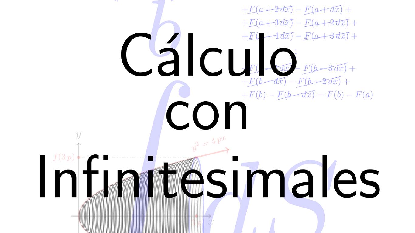 Portada del curso Cálculo con Infinitesimales